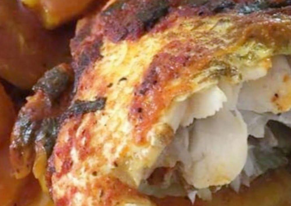 דג בורי שלם_מתכון של המטבח של תכלת