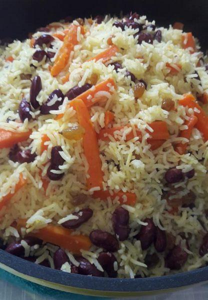 אורז פרסי טעים🌺_מתכון של יפה דודיאן