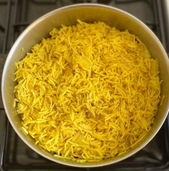 אורז צהוב עם איטריות 🌟🌟 עם ארומה נפלאה ומשגעת_מתכון של מרי שקד שירזי