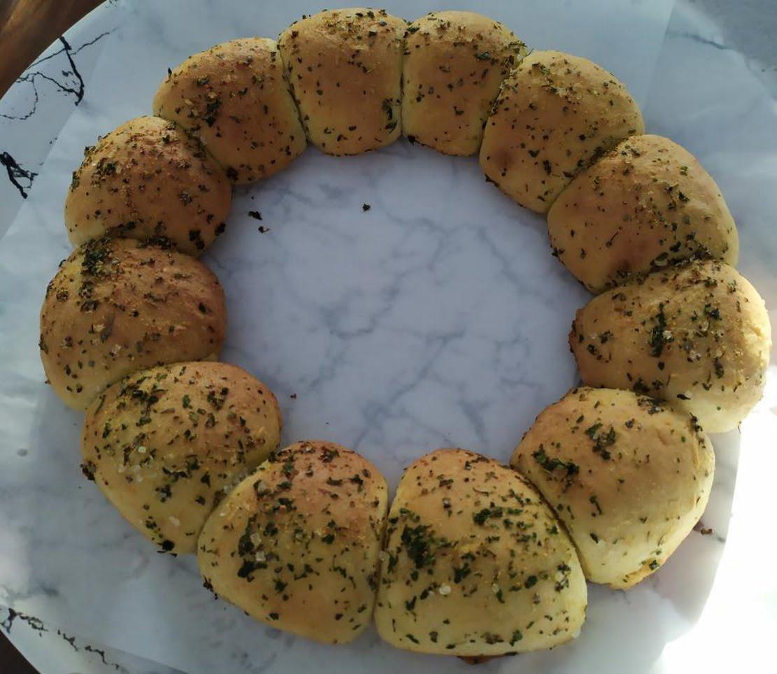 לחם שום_מתכון של שרה יוסף