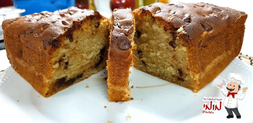 עוגת שוקולד צ'יפס ועוגה שניה עם אגוזים, צימוקים ושקדים_מתכון של טלי כהן שטרלינג