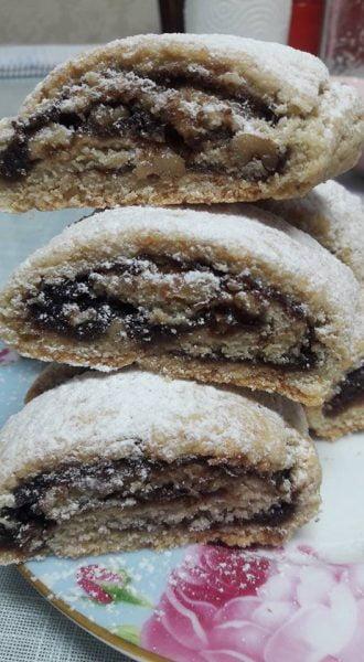 עוגיות סולת ממולאות בריבה_מתכון של יפה דודיאן