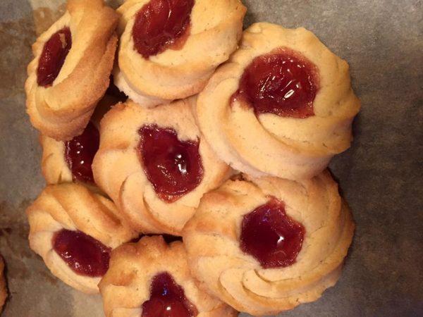 עוגיות פרח ריבה_מתכון של אילנית גואברה