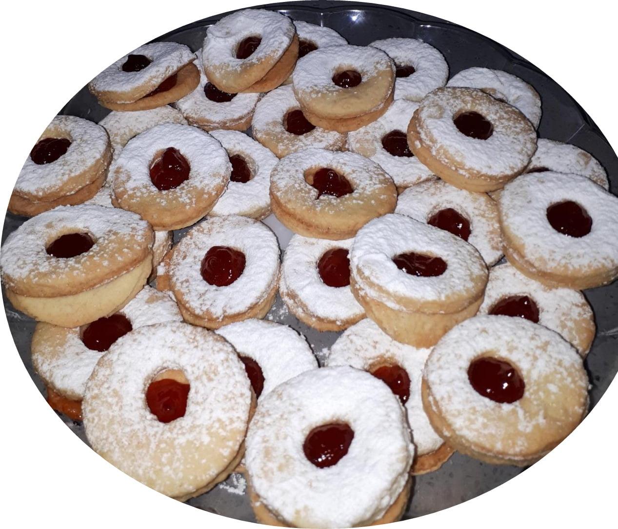 עוגיות ריבה מבצק פריך_מתכון של נאוה מלכה