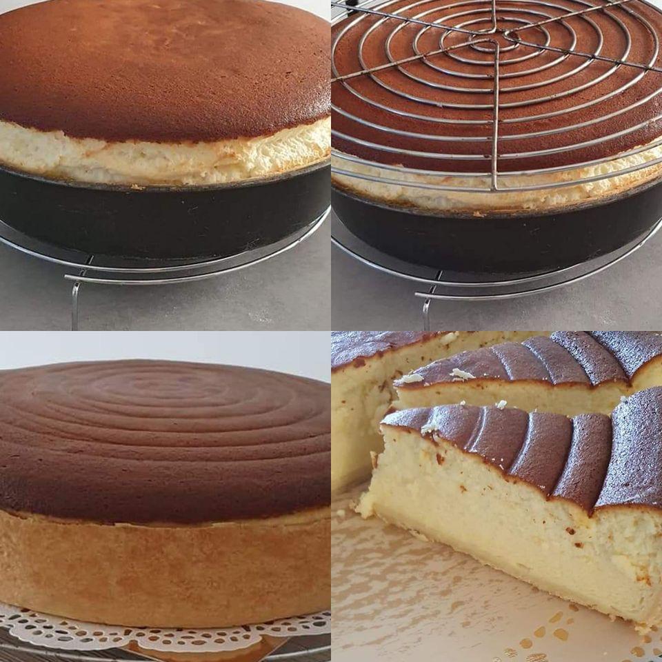 עוגת גבינה עם קלתית פריך קלילה וקלה להכנה_מתכון של המטבח של תכלת