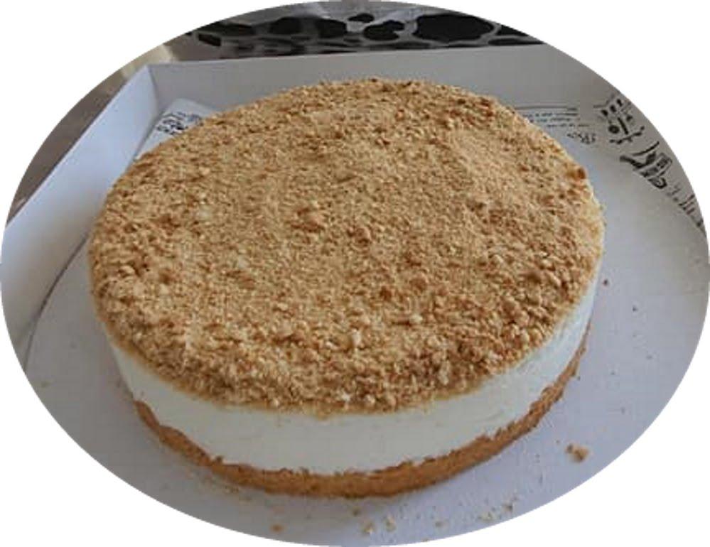 """עוגת גבינה פרורים_מתכון של """"נגיעות של אהבה"""" עוגות ועוגיות של ג'יזל"""
