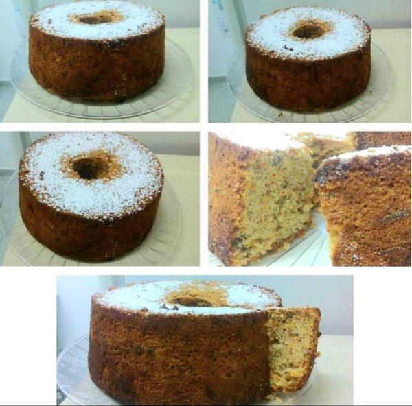 עוגת גזר ואגוזים ❤_מתכון של ירדנה ג'נאח