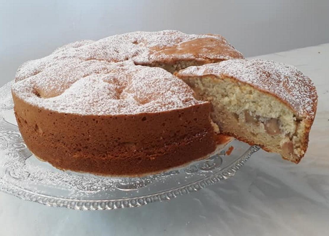 עוגת טורט תפוחים 🍎🍏🍎🍏 רכה וטעימה_מתכון של תהילה גיל
