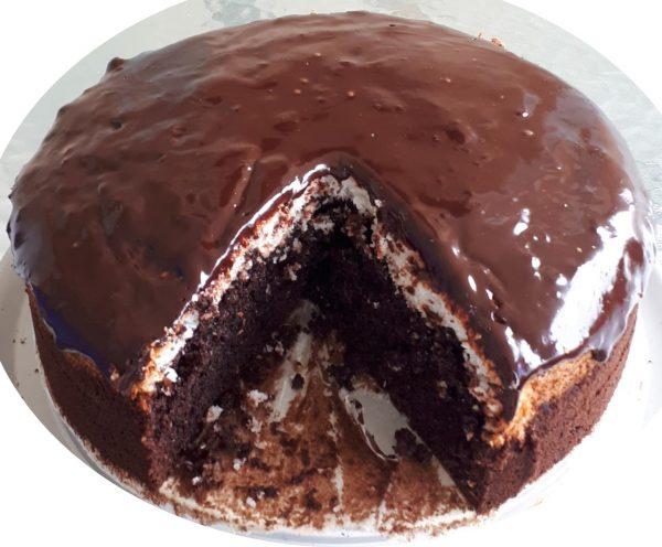 עוגת שוקולד עם קוקוס_מתכון של נאוה מלכה