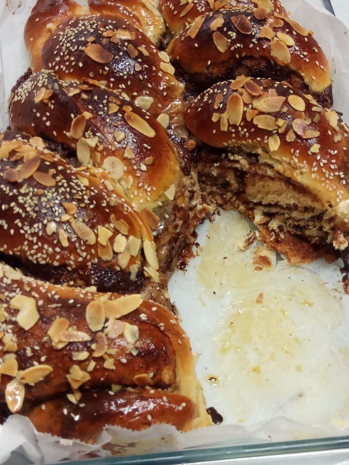 עוגת שמרים פרווה משגעת_מתכון של יפה דודיאן
