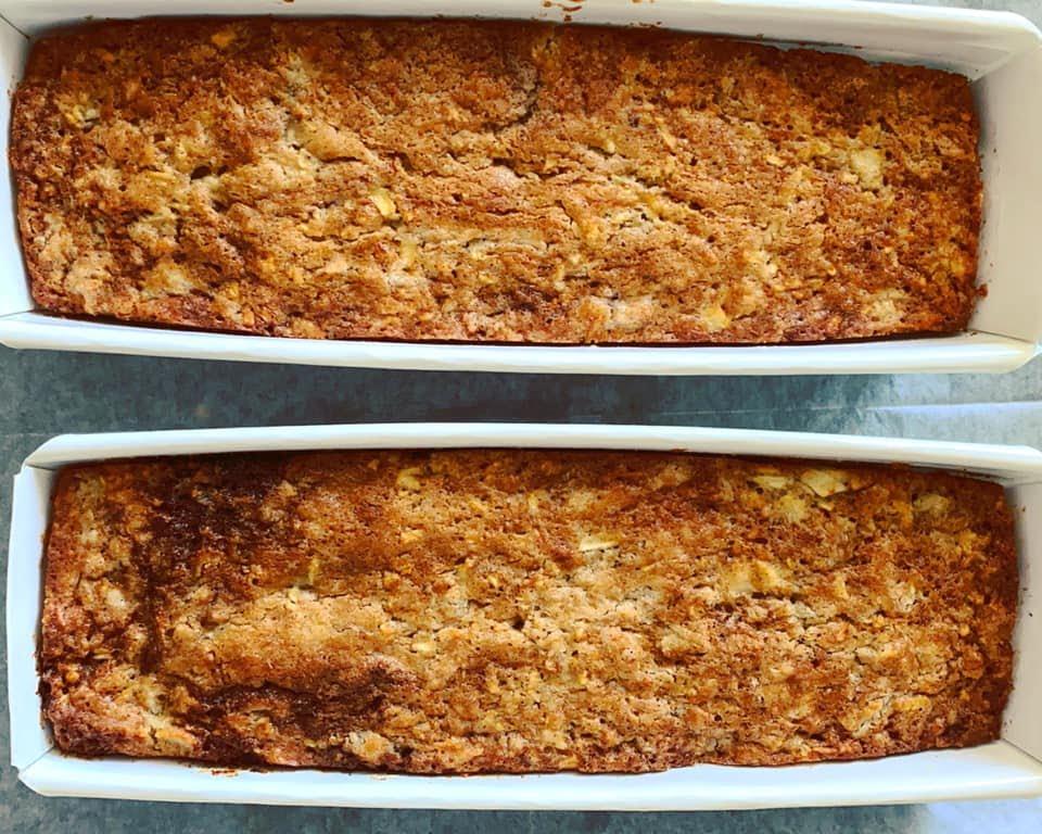עוגת תפוחי עץ בחושה_מתכון של מרי שקד שירזי