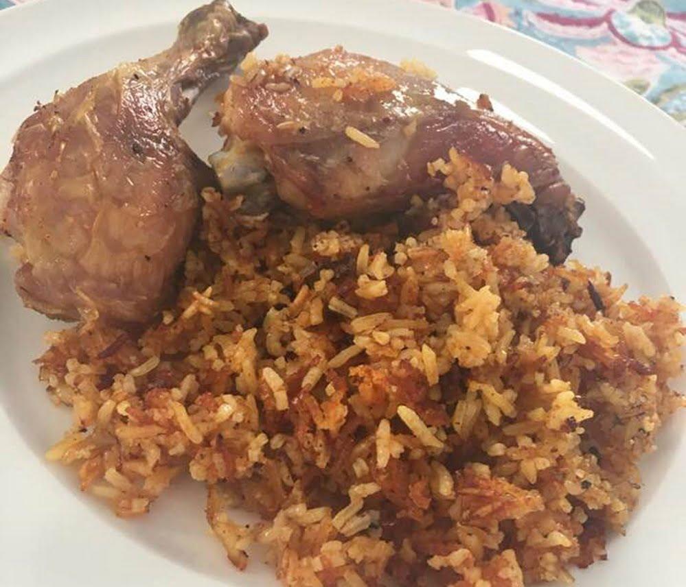 עוף עם אורז בתנור💥_מתכון של עדינה בטש