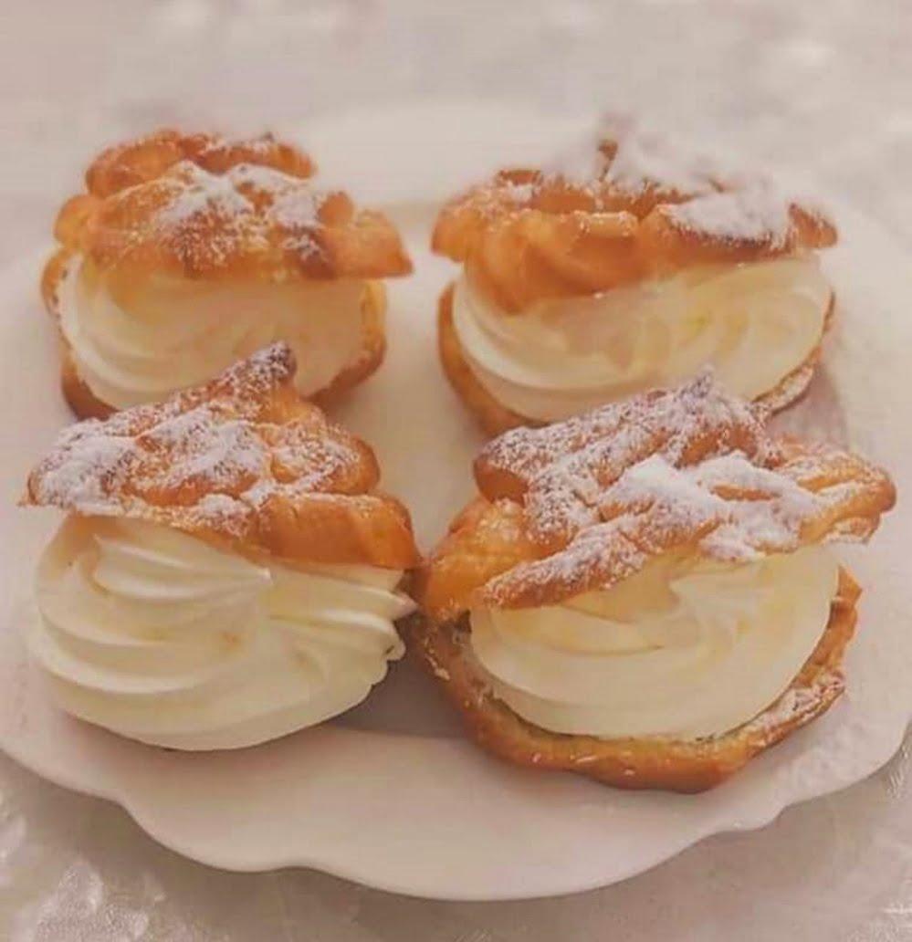 פחזניות בקרם צרפתי_מתכון של רוז טעים במטבח אוחנה