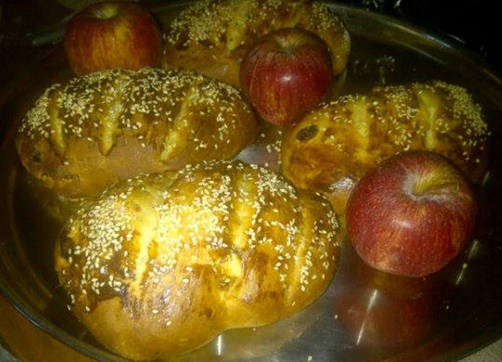 לחם עם תבלינים צימוקים ושקדים{לחם מתוק}_מתכון של חגית פרג'ון