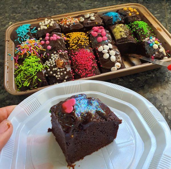 עוגת שוקולד טעימה וקלה פרווה/חלבית_מתכון של_נגיעות של אהבה עוגות ועוגיות של ג'יזל