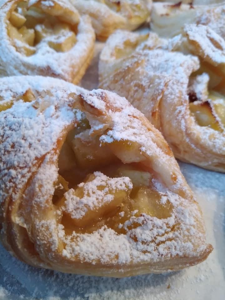מאפה תפוחים מבצק עלים_מתכון של מגי נוני מרגלית