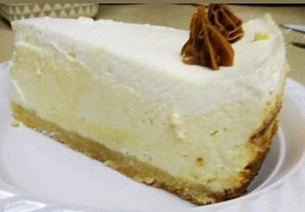 מוס גבינה אפוי עם שוקולד לבן_מתכון של ברוריה צוריאל
