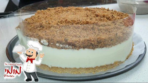 מתכון כתוב + סרטון להכנת עוגת גבינה פרורים_מתכון של טלי כהן שטרלינג