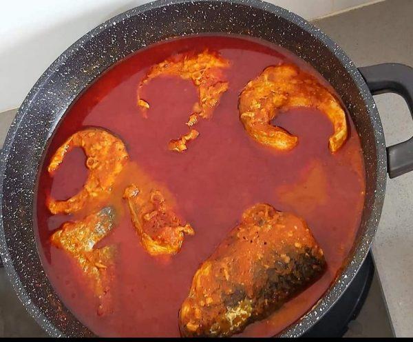 חריימי חריף עם דג בורי_מתכון של רוז טעים במטבח אוחנה