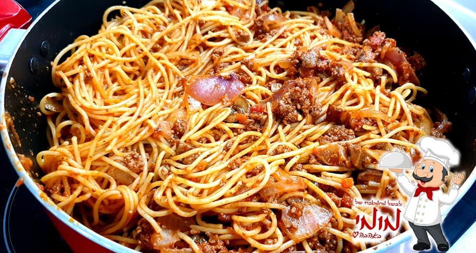מתכון כתוב + סרטון להכנת ספגטי בולונז עסיסי, משודרג עם ערמונים 🔥_מתכון של טלי כהן שטרלינג – מאסטר מתכונים