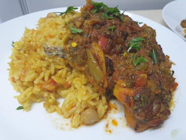 מתכון כתוב + סרטון להכנת דגים תבשיל ירקות ואורז_מתכון של  ירדנה ג'נאח – מאסטר מתכונים