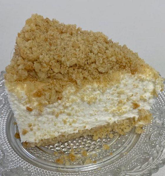 עוגת גבינה פרורים נדירהההה🌹_מתכון של סמדר ואלי וקנין