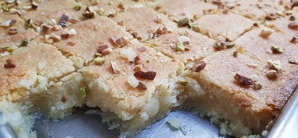 עוגת בסבוסה וקוקוס_מתכון של סמדר ואלי וקנין