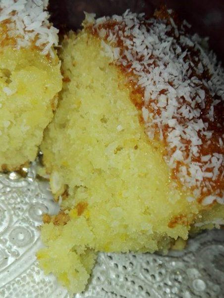 עוגת שקדים קוקוס ותפוזים_מתכון של ריקי גבאי