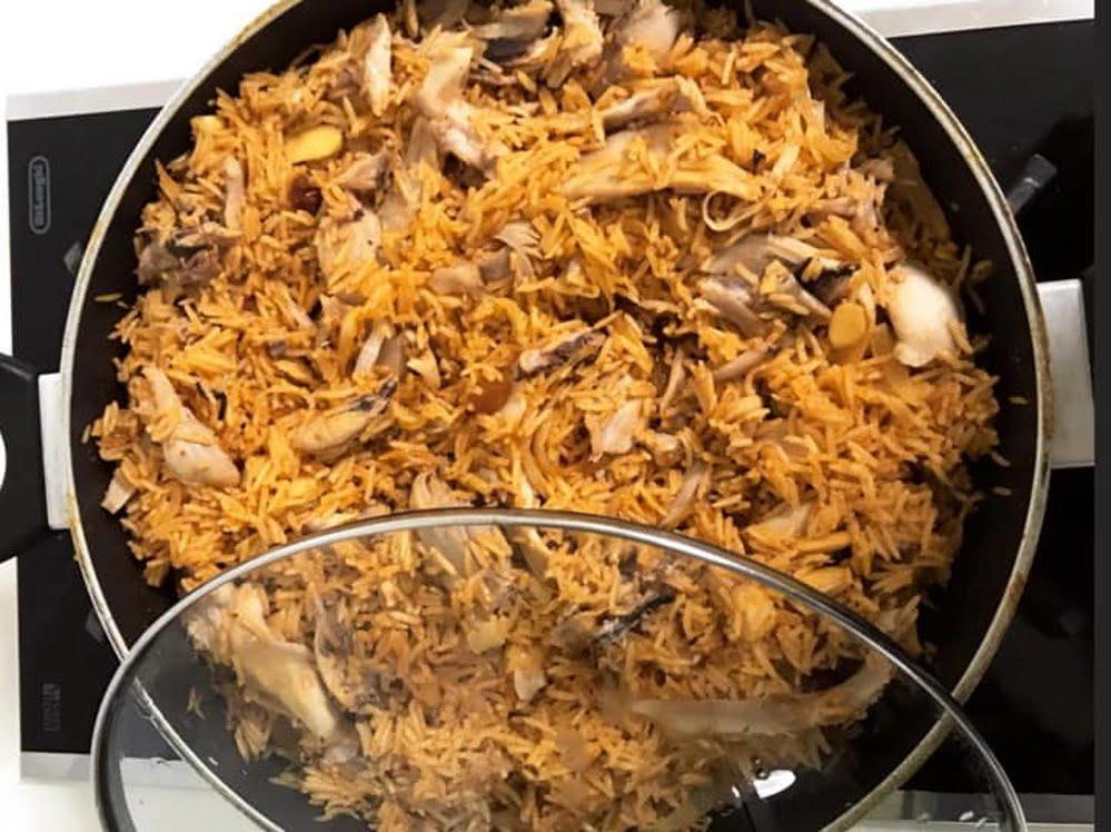 אורז אדום עירקי_מתכון של סמדר ואלי וקנין