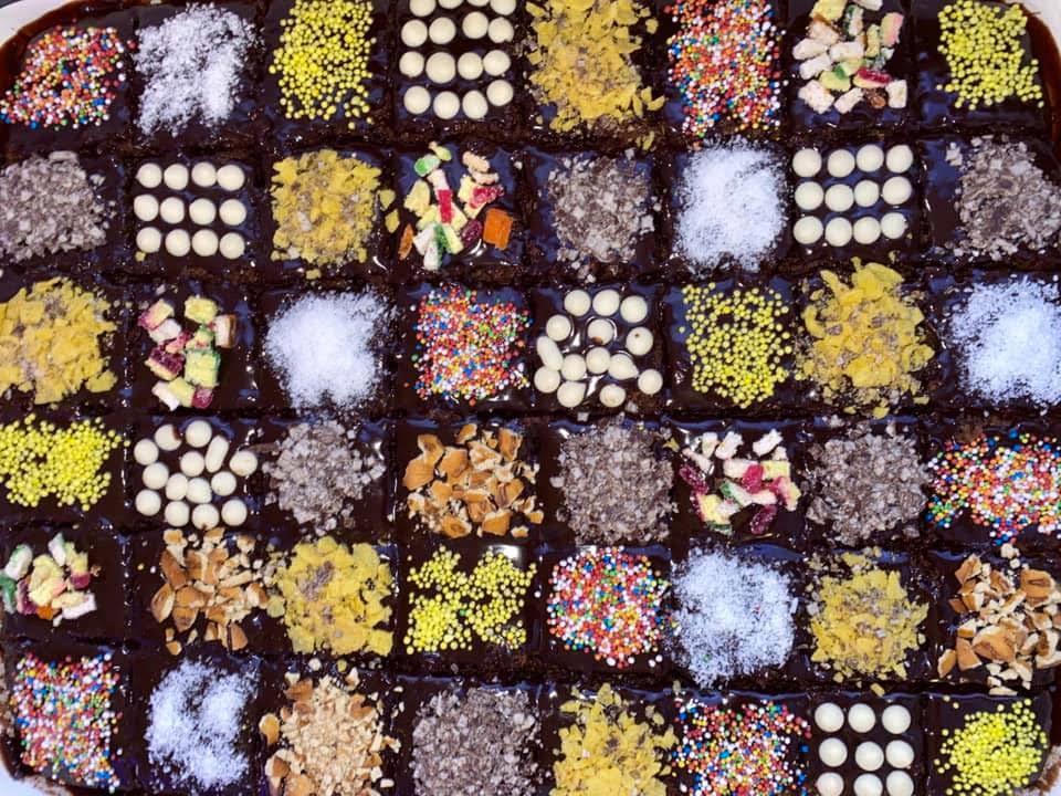 עוגת שוקולד ענקית רכה וטעימה😋_מתכון של סמדר ואלי וקנין