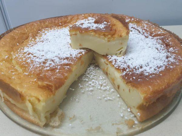 מתכון כתוב + סרטון להכנת עוגת גבינה ללא גבינה 😝_מתכון של ירדנה ג'נאח