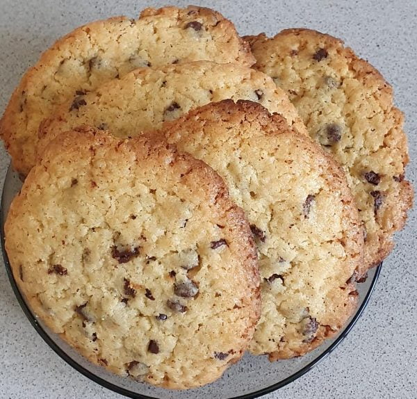 עוגיות שוקולד ציפס(levain)