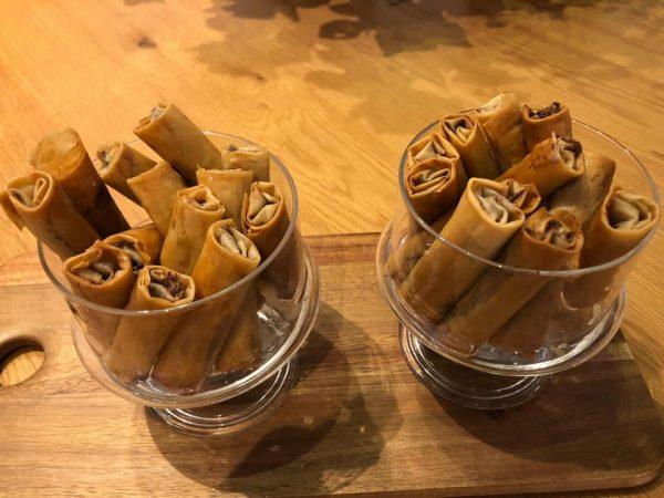 מתכון כתוב + סרטון להכנת אצבעות פילו במילוי ממרח נוטלה, בייגלה גרוס ומלח גס🔥🔥🔥 _מתכון של סמדר ואלי וקנין