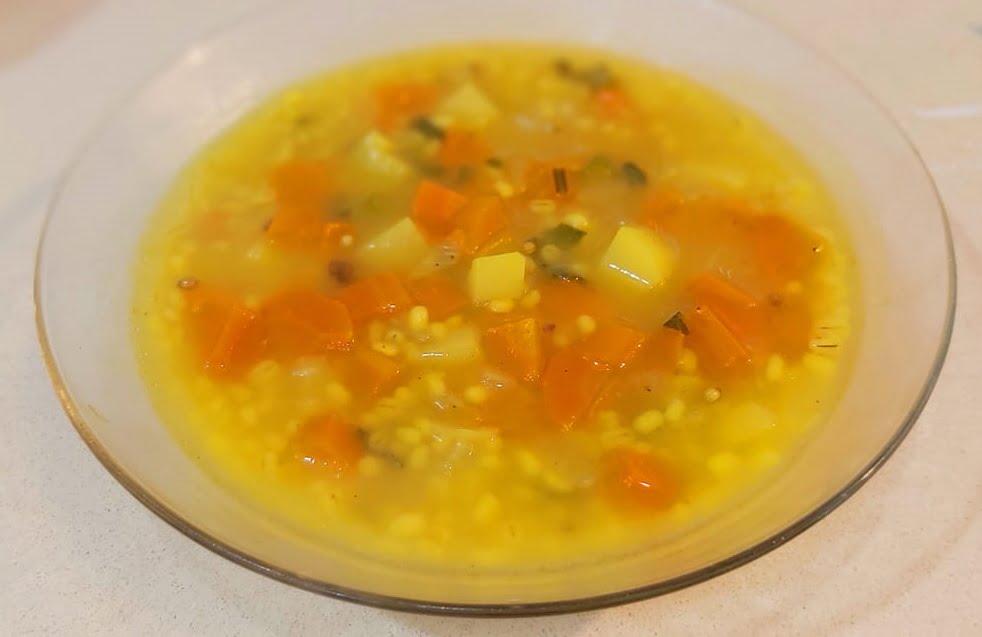 מרק גריסים_מתכון של רוז טעים במטבח אוחנה