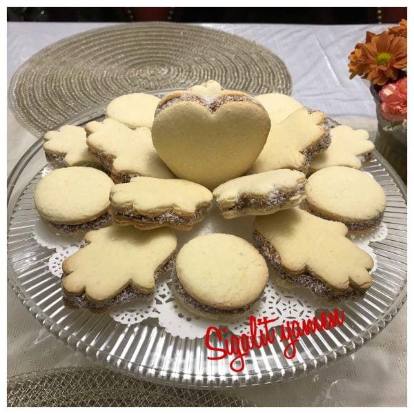 עוגיות אלפחורס בצורות שונות_מתכון של סיגלית ימין
