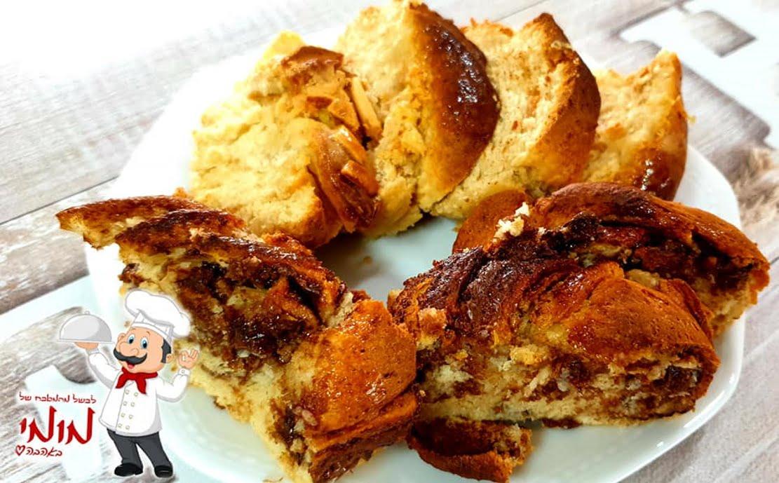 מתכון כתוב + סרטון להכנת עוגות קראנץ' שמרים, עם מגוון מילויים_מתכון של טלי כהן שטרלינג