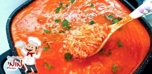 מרק עגבניות עשיר וסמיך בתוספת עצמות ואורז🔥 _מתכון של טלי כהן שטרלינג – מאסטר מתכונים