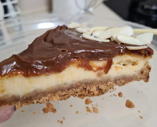 עוגת דולסה עם ריבת חלב העוגה מאוד טעימה נמסה בפה 🤤🤤🤤 _מתכון  של מילן וקנין