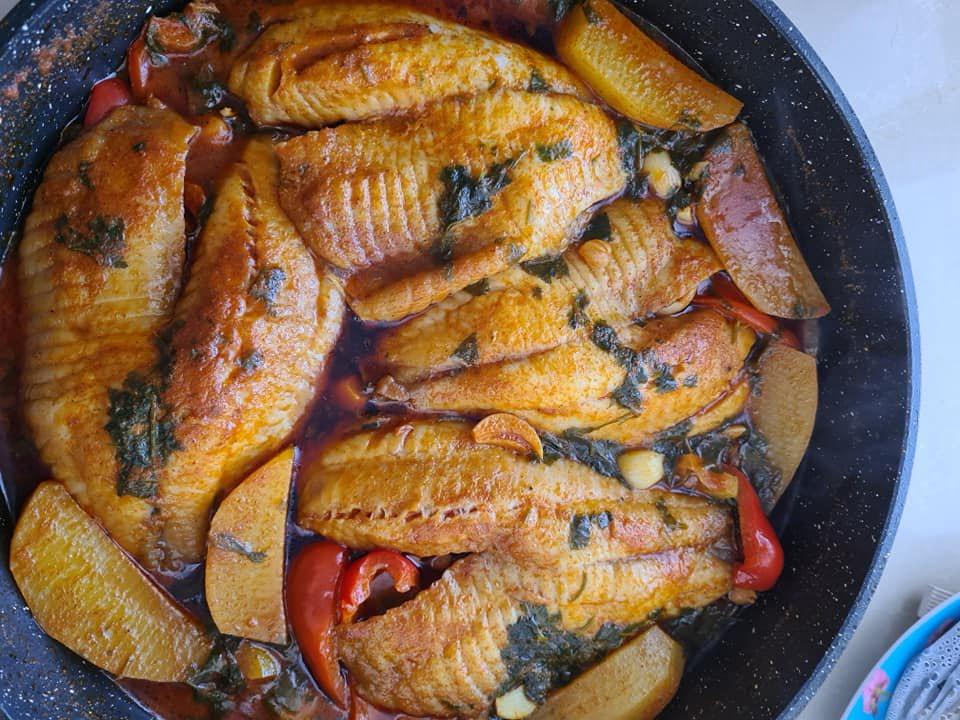 דגי אמנון – מושט עם רוטב חריף אש_מתכון  של מילן וקנין