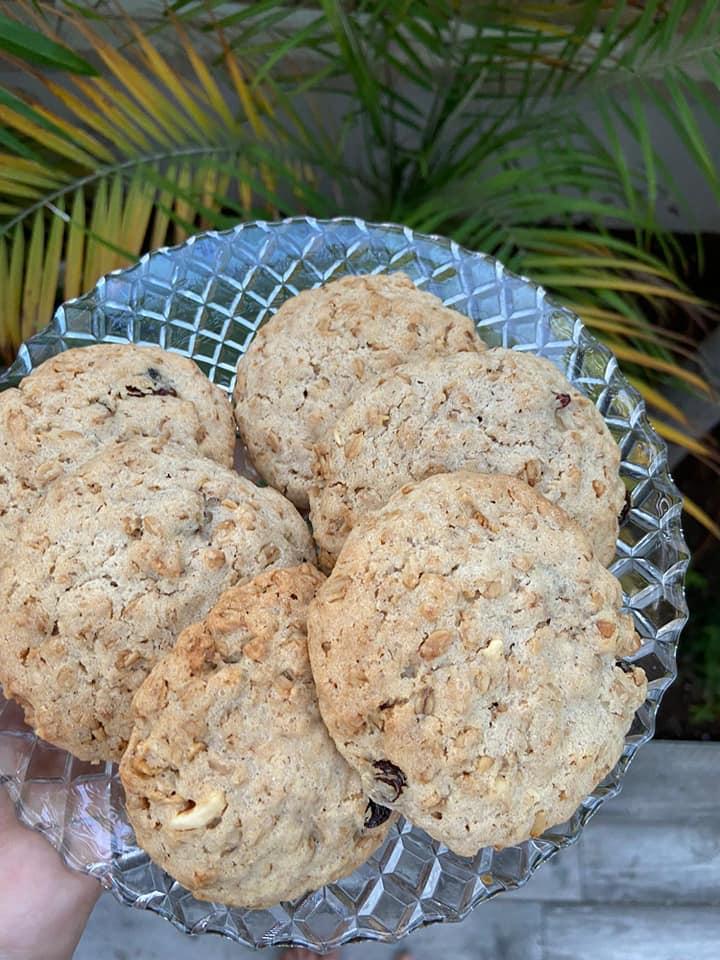 עוגיות גרנולה 💗💗💗💗💗_מתכון של אילנה בוכריס