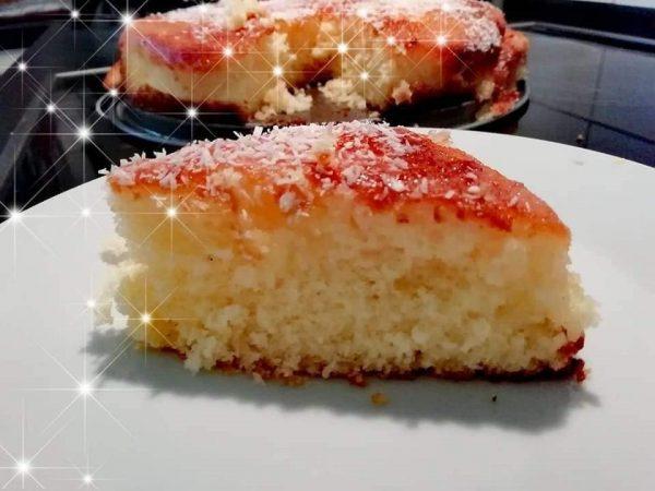 עוגת לימון וקוקוס😋_מתכון של ברכה זולינג