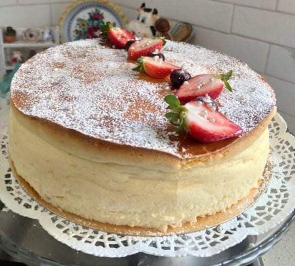 עוגת גבינה אפויה_מתכון של רחל עינב