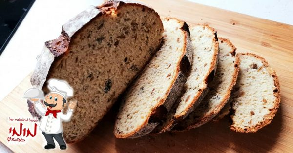 לחם בית מהיר, בתוספת תערובת ג'עלה🔥_מתכון של טלי כהן שטרלינג