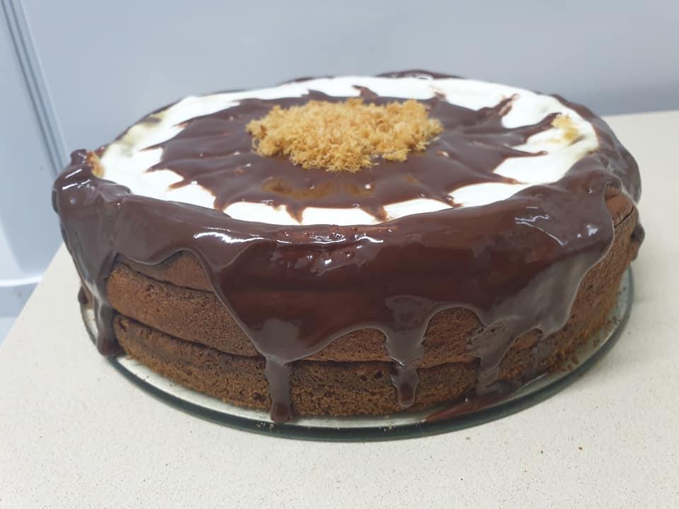 עוגת גבינה עם 3 שמנת חמוצה …ויוגורט ❤_מתכון של ירדנה ג'נאח