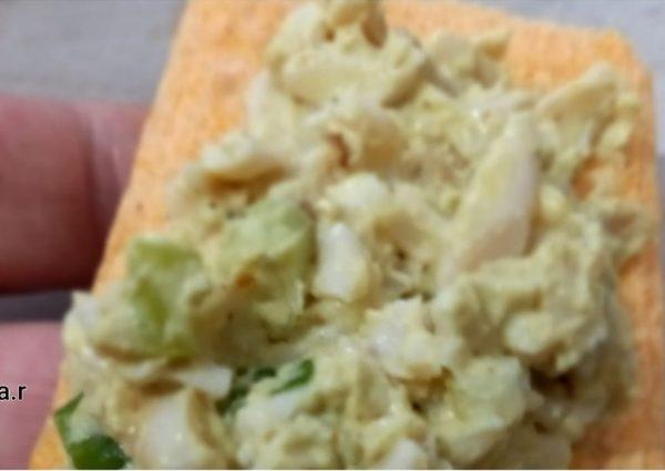 ממרח ביצים_מתכון של המטבח של יפה רייפלר מתכונים