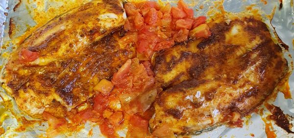 פילה דג אמנון   אפוי בתנור