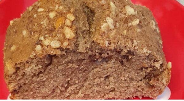 עוגת קפה אגוזים וקינמון