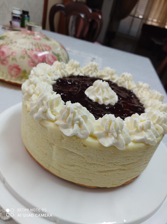 עוגת גבינה אפויה_מתכון של יפה דודיאן