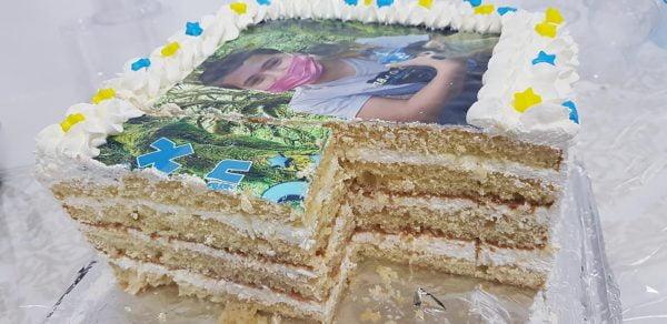 עוגת טורט שכבות עם קצפת ליום הולדת צמחית_מתכון של טובה ניסים