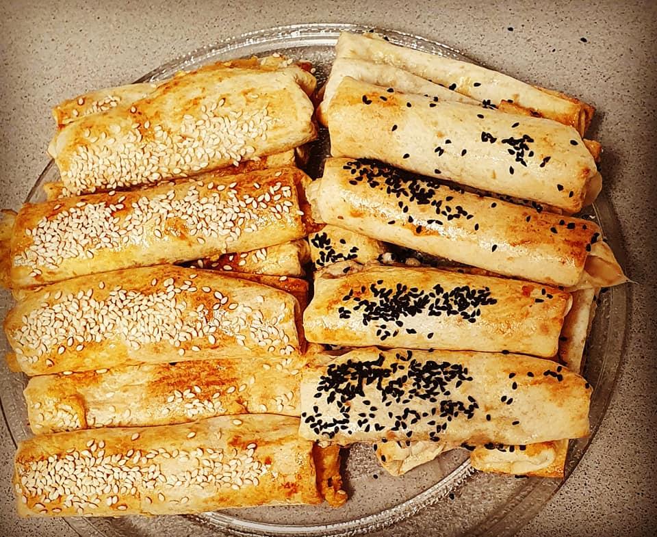 טורטיות אפויות בתנור ב2 מילויים שונים
